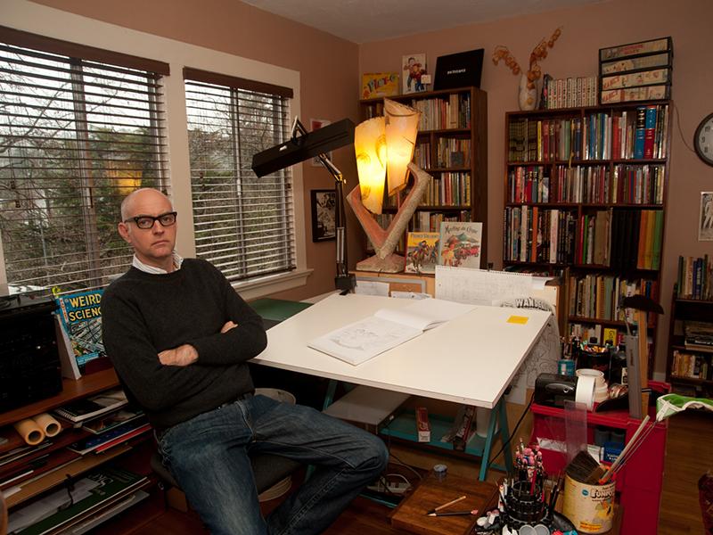 Guarda un po' come si mettono le cose: un ritratto di Daniel Clowes